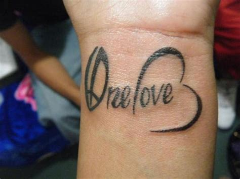 one love tattoos 78 tattoos designs for your wrists