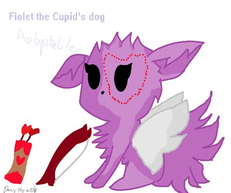 cupid s dogs fiolet the cupid s adoptable by darxthewolf on deviantart