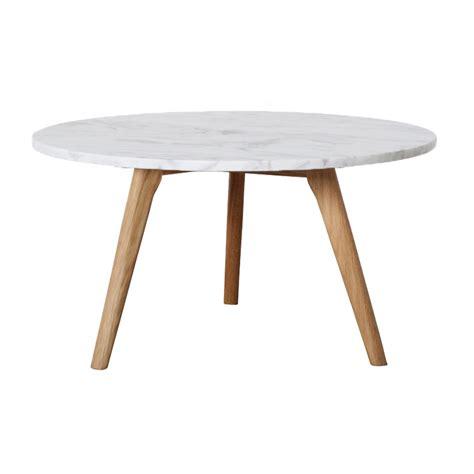 table basse ronde bois blanc urbantrott