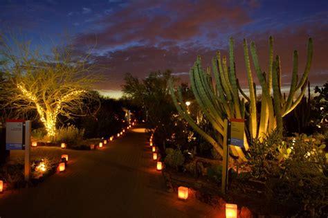Desert Botanical Garden Luminaria Desert Botanical Garden Las Noches De Las Luminarias 2017 In Az Everfest