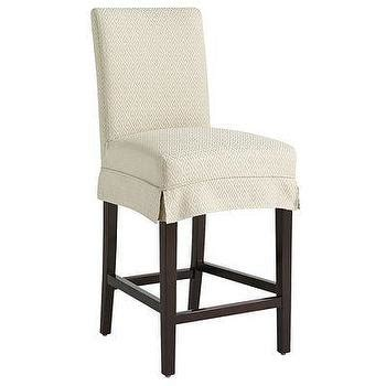 bar stool slipcover dana bar and counter rain stool slipcover