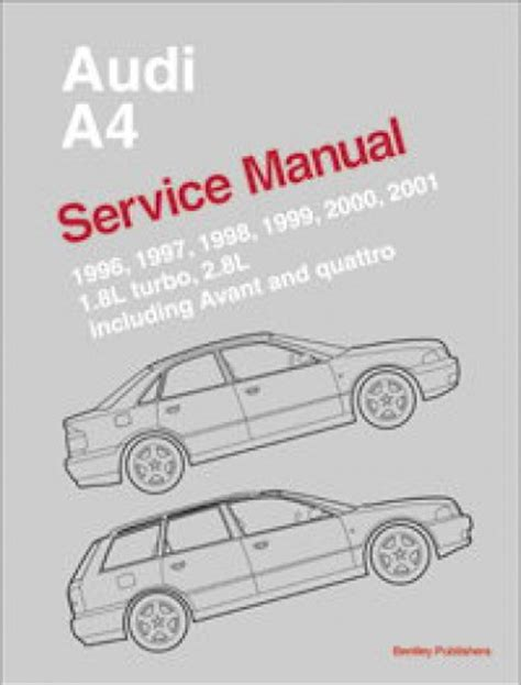 service and repair manuals 1985 audi quattro electronic toll collection 1996 2001 audi a4 avant and quattro service manual