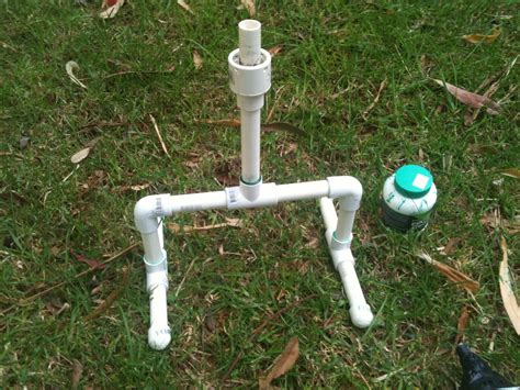water rocket how to make a water bottle rocket awesome water bottle rocket launcher 7 steps