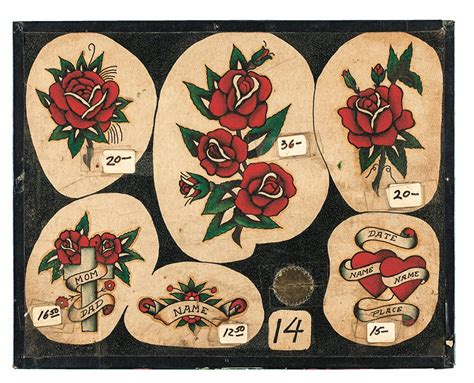 vintage tattoo flash jonathan shaw vintage flash kollectors army