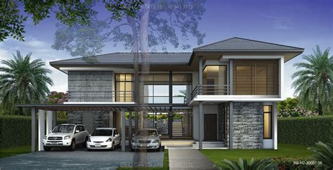 Two Story Colonial House Plans by Cgarchitect Professional 3d Architectural Visualization