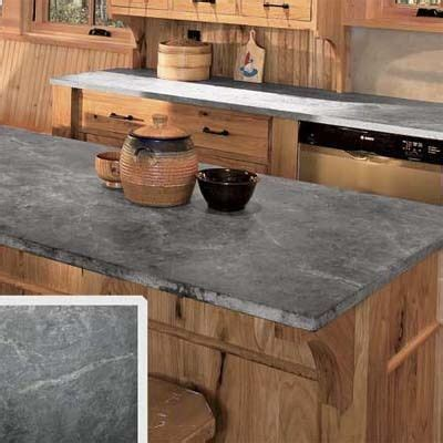 flannel gray soapstone countertop  rustic ranch style