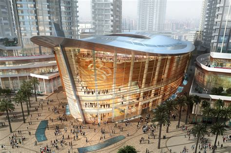 Inside Burj Al Arab by Dubai Opera House Moves Closer To Completion In The Uae