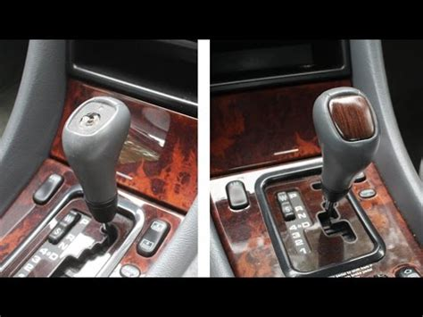 Mercedes Shift Knob Replacement by Woodworking Repair On Mercedes Gear Shift Knob Auto