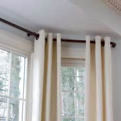 Bay Window Drapes Bay Window Curtain Rods For The Home
