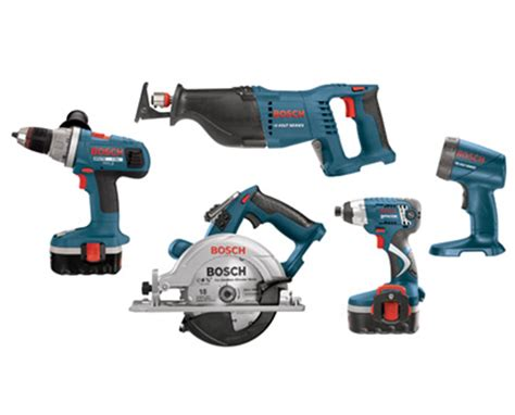 Bosch 18v Kits | bosch cpk50 18 18v 5 piece cordless combo kit tiger supplies