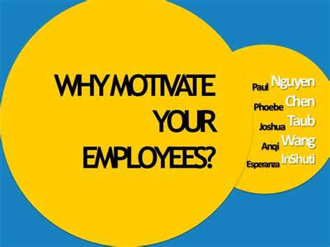 Who Motivate You In Your Search And Provide Moral Support Are Members Of Your Why Motivate Your Employees