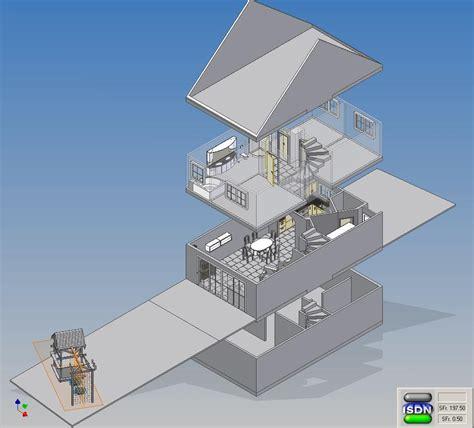 haus cad baupl 228 ne f 252 r haus autodesk inventor augce de
