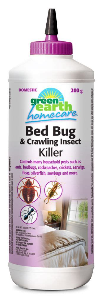green earth homecare bed bug killer dust  home depot canada