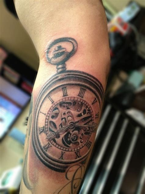 time piece tattoo pocket tattoos designs ideas and meaning tattoos