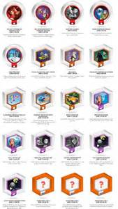 Disney Infinity Power Disc List Disney Infinity Power Disc Combinations Disney Infinity