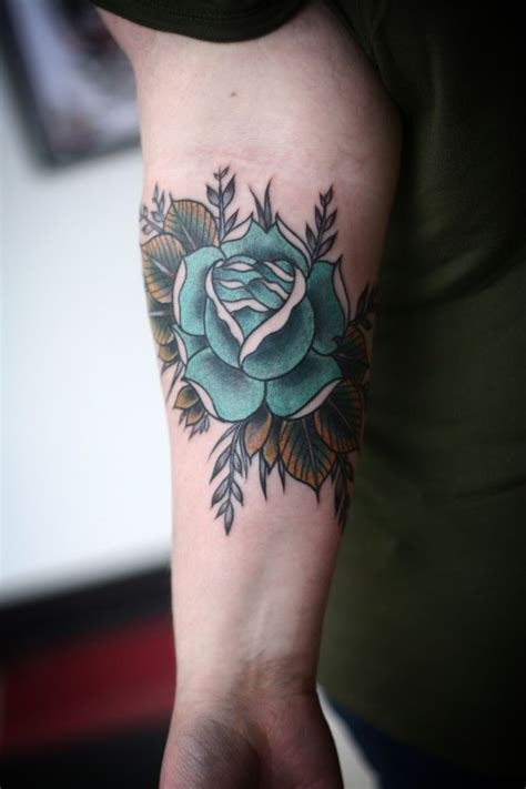 blue rose tattoo and piercing best 25 blue tattoos ideas on thigh