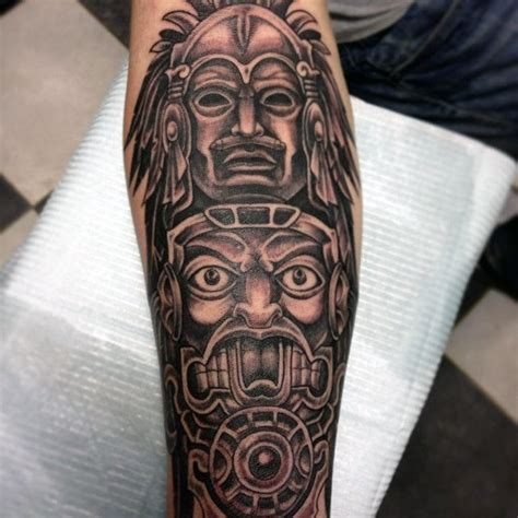 detailed tattoo designs for men 70 totem pole designs for carved creation ink