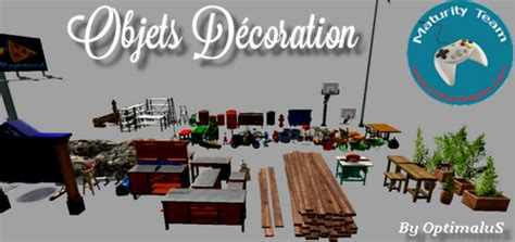 deco table ls decoration objects v 1 0 fs17 farming simulator 17 mod