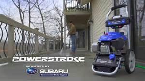 Subaru Ea190v Pressure Washer Powerstroke Electric Start Pressure Washer Powered By