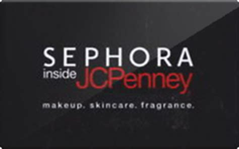 Can You Use Jcpenney Gift Cards At Sephora - sell sephora inside jcpenney gift cards raise