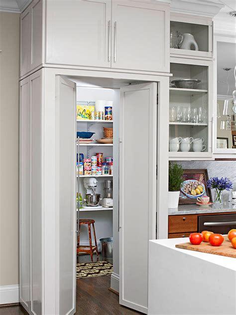 walk  pantry cabinet ideas  homes gardens