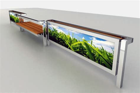 advertising bench relja perunovic billboard bench