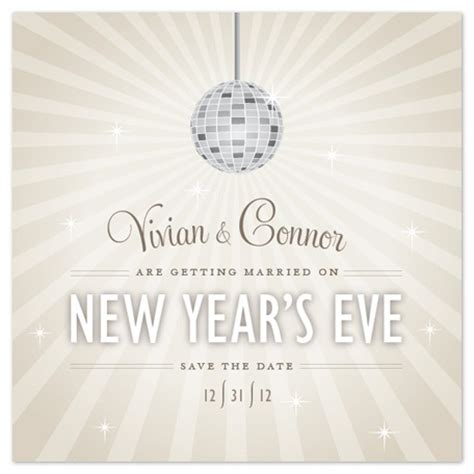 date ideas new years new years save the date wedding ideas