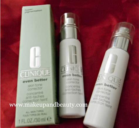 clinique even better skin tone clinique even better skin tone corrector review
