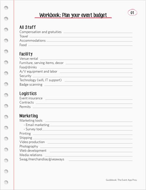 Event Planning Tools Templates by We Found All The Best Event Budget Templates Guidebook