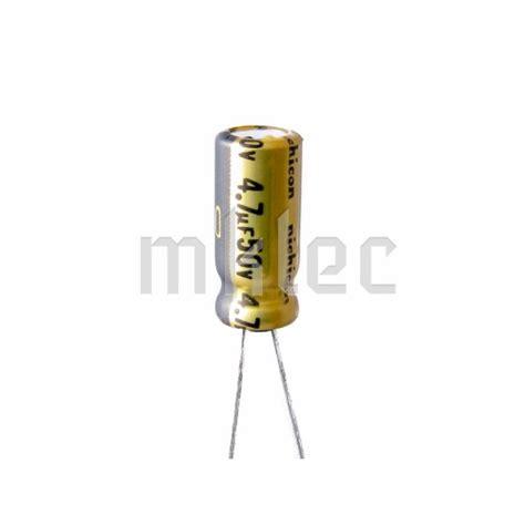 kapasitor audio grade 100pcs 4 7uf 50v audio grade electrolytic capacitor nichicon