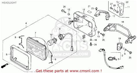 1985 honda fourtrax 250 parts honda trx 250 parts car interior design