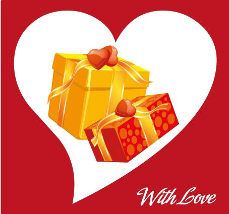 Amore Flowers Cards And Gifts - biglietto amore 2 regali love card 2 gifts vettoriali gratis it free vectors