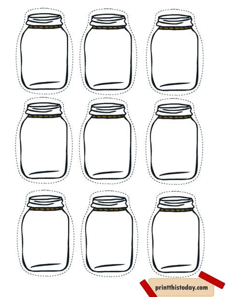 printable jar labels template free printable mason jar tags for homemade products food