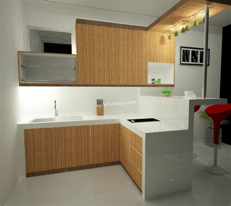 desain dapur mini bar sederhana kitchen set murah dengan mini bar sederhana