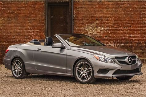 Used 2015 Mercedes Benz E Class Convertible Pricing For