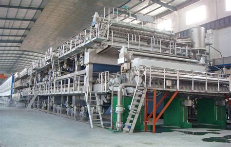 Paper Machines - 1575mm kraft paper machinery china mainland paper