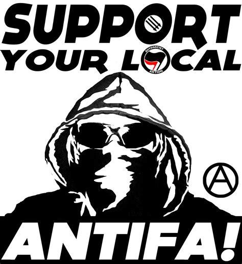 Aufkleber Anti Antifa by Global Antifa No Pasaran To Scum Indybay