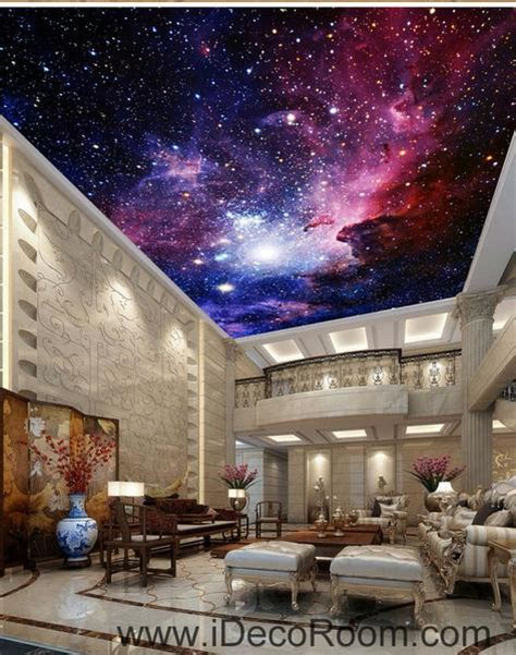 galaxy nubela outerspace  ceiling wall mural wall
