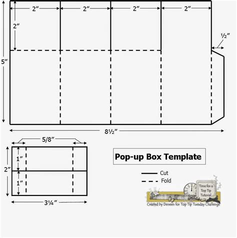 stin up templates for boxes pop up box template fits invitation size envelope