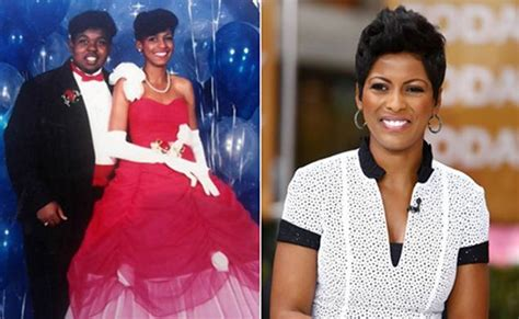 husband tamron hall married today show anchors reveal awkward prom pix ny daily news