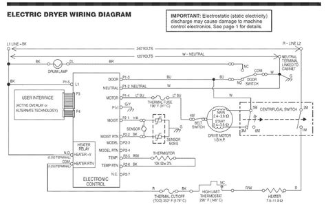 kenmore dryer schematic diagram wiring diagram with