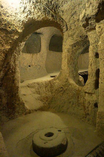 Alas Kandang Kuda kaymakli bandar bawah tanah di turki sebagai perlidungan
