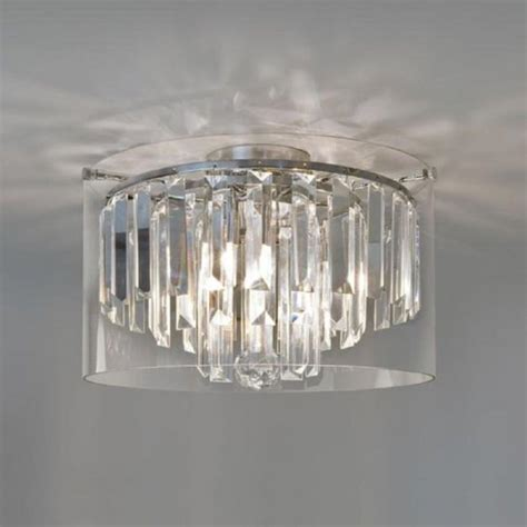 Flush Fitting Chandeliers Small Flush Fitting Bathroom Chandelier Ip44 Insulated