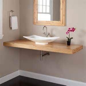 Bathroom Vanity With Top Mount Sink 1000 Ideas About Bamboo Bathroom On Bamboo