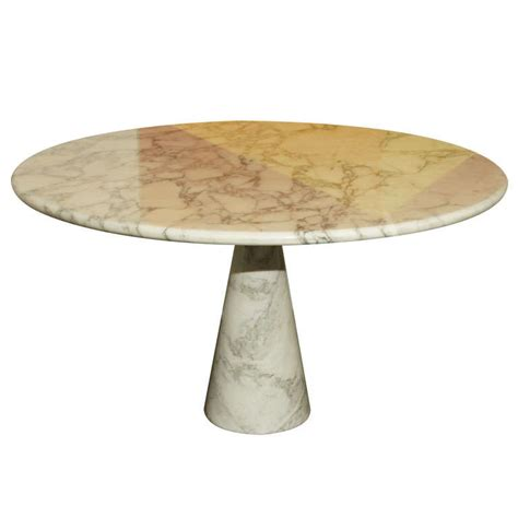 italian marble dining table italian marble dining table by mangiarotti at 1stdibs