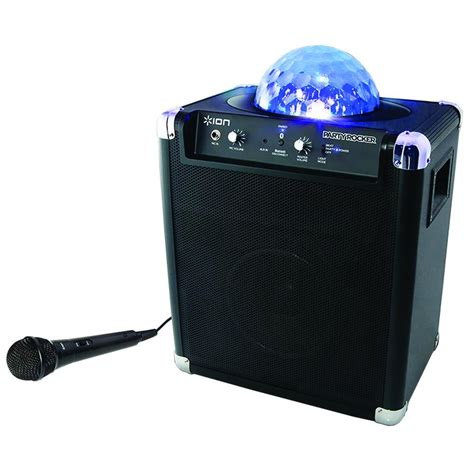 ion speaker with lights ion audio rocker live wireless speaker with
