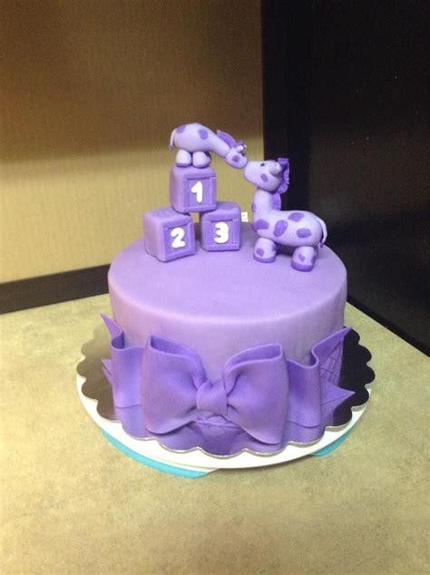 purple giraffe baby shower cake  cakes baby shower giraffe baby girl shower themes baby