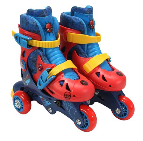 spider ultimate spider convertible 2 in 1 skate junior size 6 9 166433