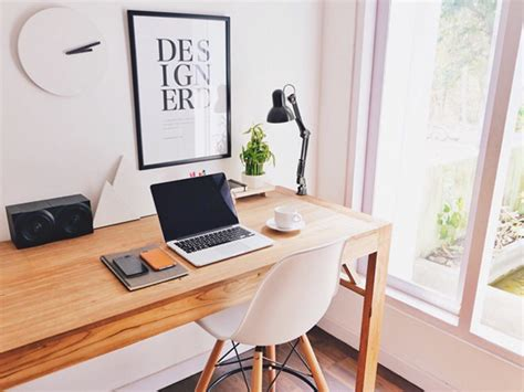 desk minimalist minimal workplaces instagram account to inspire your desk