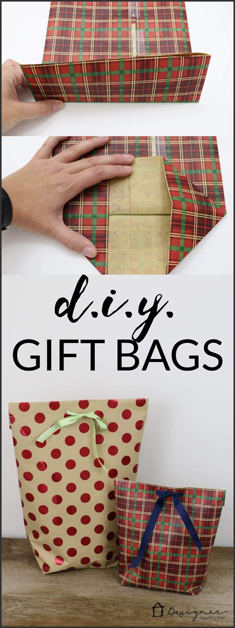 creative printable wrapping paper how to make a diy gift bag for christmas wraps learning